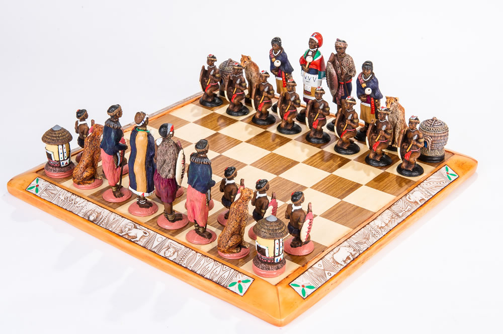 Kumbula Quality Themed Chess Sets