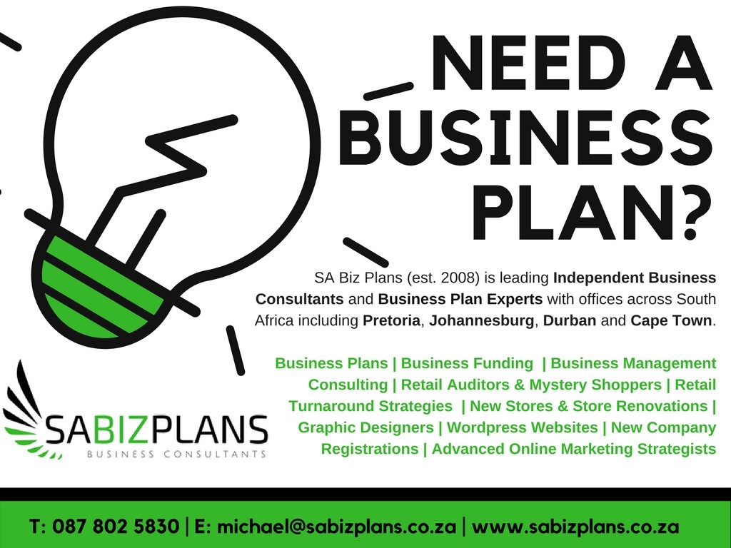 Help with business plan south africa