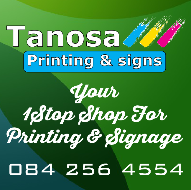 Tanosa printing signs we design and also do packaging of products tanosa printing signs reheart Choice Image
