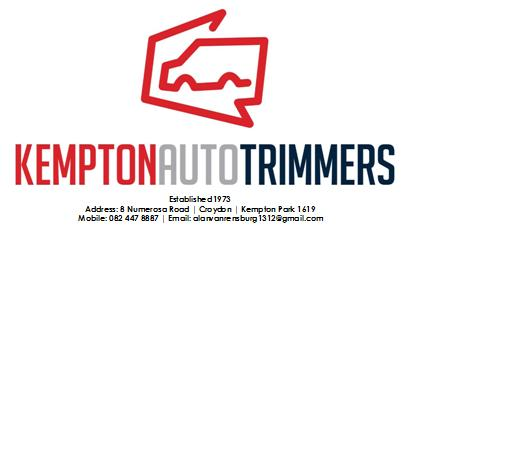 Kempton Auto Trimmers Upholstery, Motor Trimming, Related