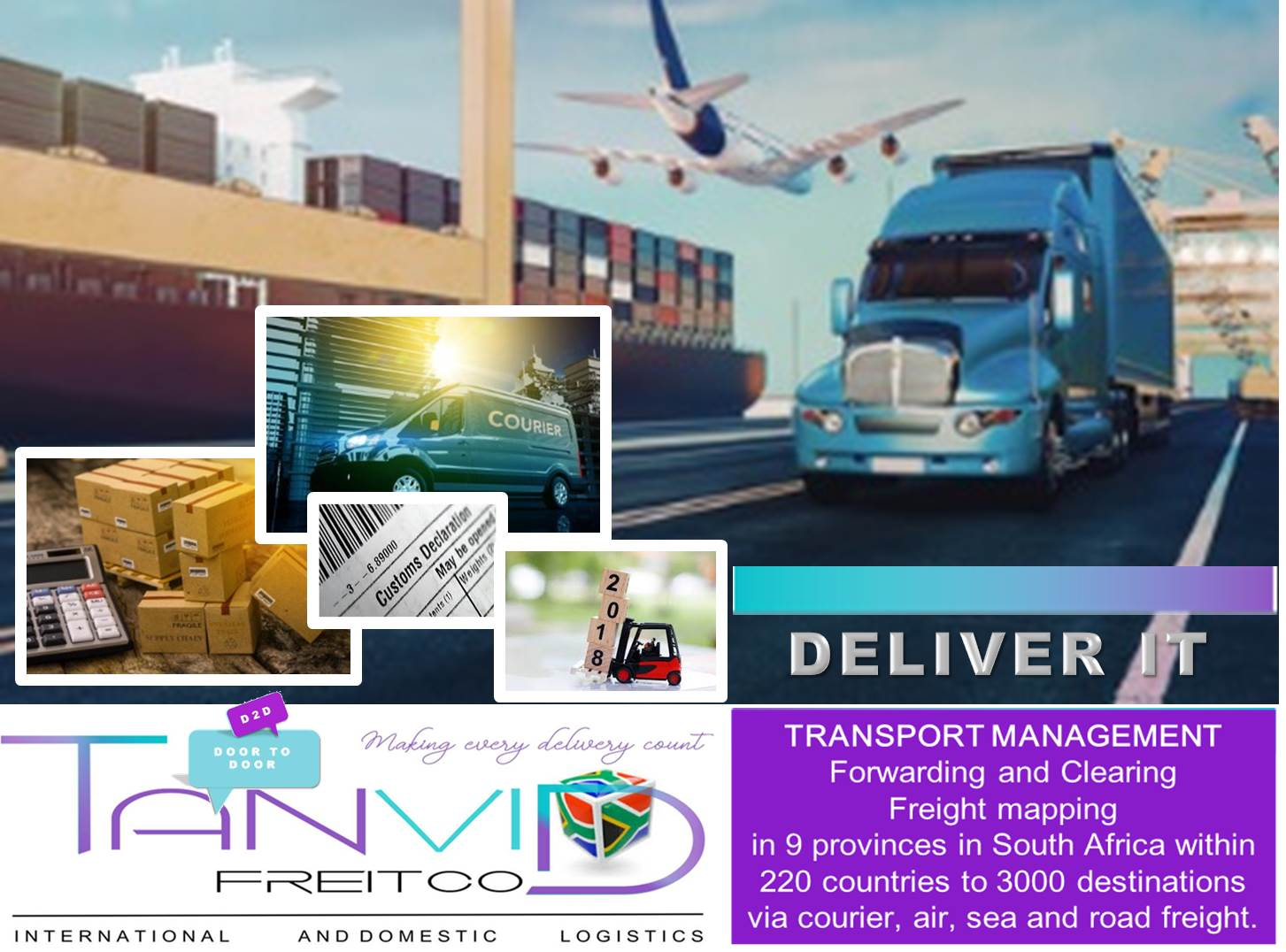 Tanvid Freitco and Courier Service Land Courier & Distribution
