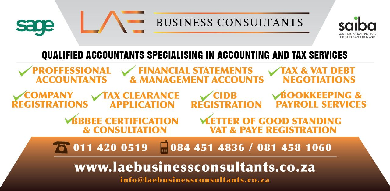 Lae Business Consultants All Sars Related Issues Bookkeeping And