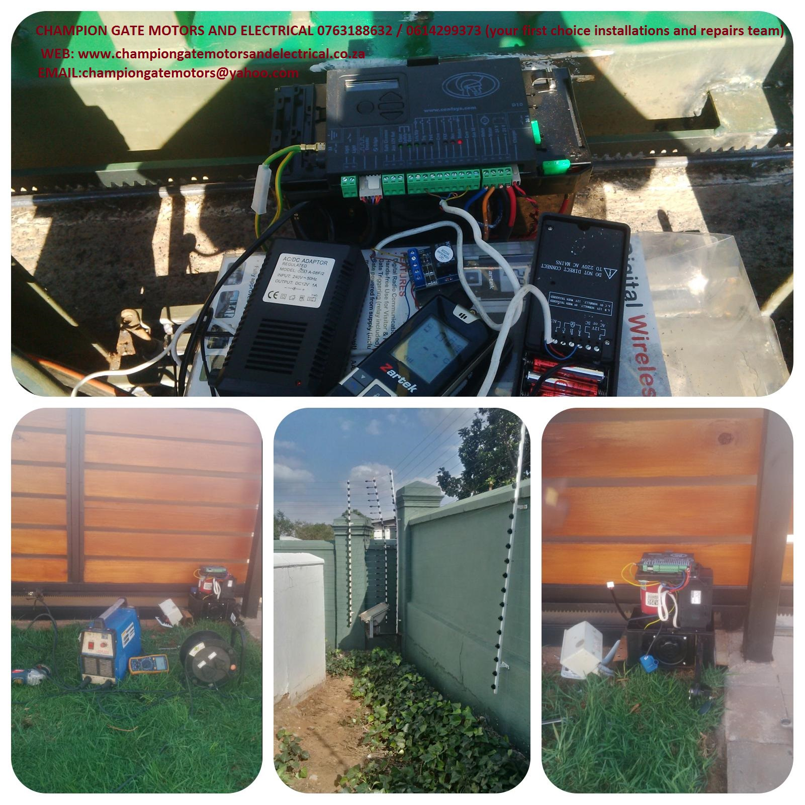 Gate Motor Installation Repairs Pretoria We Domestic