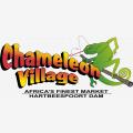 Chameleon Village African market - Logo