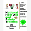 National First Aid and Safety Training  (8025)