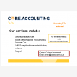 Core Accounting (16341)