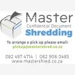 Master Confidential Document Shredding (25611)