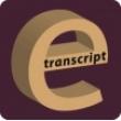 Etranscript - Logo
