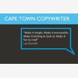 Cape Town Copywriter and Proofreader - Logo