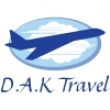 D.A.K Travel - Logo