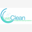 weClean Professional Cleaning Solutions - Logo