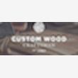 Custom wood crafts man - Logo