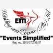 EM Wedding And Events - Logo
