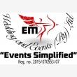 EM Wedding And Events - Logo