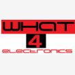 What 4 Electronics - Logo