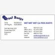 Wet Wet Wet T/a Pool Buoys - Logo
