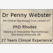 Dr Penny Webster - Clinical Psychologist - Logo