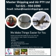 Master Shipping and Air - Logo