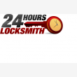 24 Hour Locksmith - Logo