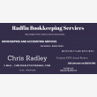 Radfin Bookkeeping Services - Logo