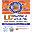 I.C Paving & Walling - Logo