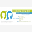 Elisha Govender  Speech-Language Therapist - Logo