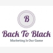 Back to Black digital marketing - Logo
