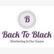 Back to Black digital marketing - Logo