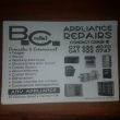 Appliance Repairs. Domestic and Commercial.  - Logo