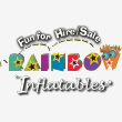Rainbow Inflatables - Logo