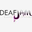 DEAFJAM PRINTING BRANDING EVENTS - Logo