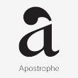Apostrophe Web - Logo
