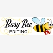 Busy Bee Editing - Logo