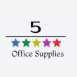 5 Star Office Supplies - Logo