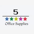 5 Star Office Supplies - Logo