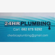 24 Hour Plumbing and Maintenance Mossel Bay - Logo