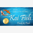 Koi Fish Ponds and Pools - Logo