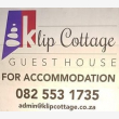 Klip Cottage Guest House & Self-catering - Logo