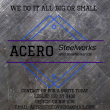 Acero steel works and maintenance - Logo