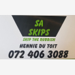 SA Skips East Rand -  Boksburg & Germiston - Logo