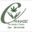 Cannabiz The Healers Choice  - Logo