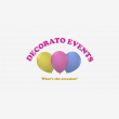 Decorato Events - Logo