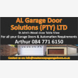 AL Garage Door Solutions - Logo
