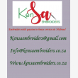 embroidery printing kensa embroiders - Logo