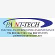 Paint-Tech painting.waterproofing.maintenance - Logo