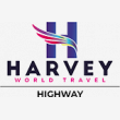 Harvey World Travel Highway - Logo