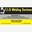 T.I.G. Welding Services CC - Logo