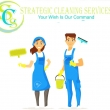 Strategic Cleaning Services - Logo