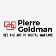 Pierre Goldman dot com - Logo