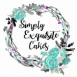 Simply Exquisite Cakes  - Logo